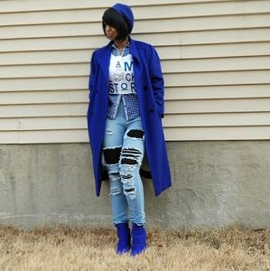 Coat/ Royal Blue
